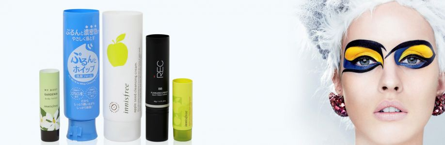 Cosmetic tube packaging design